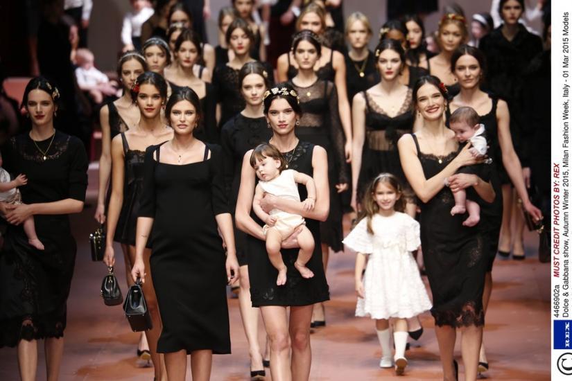 Włoski styl kolekcja jesień zima Dolce Gabbana 15/16