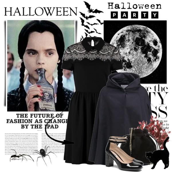 Halloweenowy strój od użytkowniczki GYAL