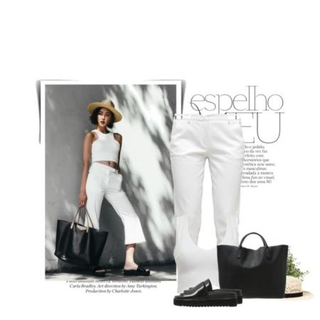 Wybierając się na wieczorne wyjście ze znajomymi ubierz monochromatyczny top w kolorze spodni , taka stylizacja jest bardzo glamour i sprawi, że będziesz wydawać się wyższa.