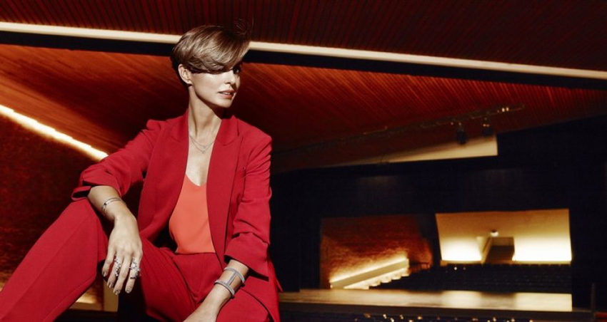 Kasia Sokołowska w kampanii reklamowej firmy Apart