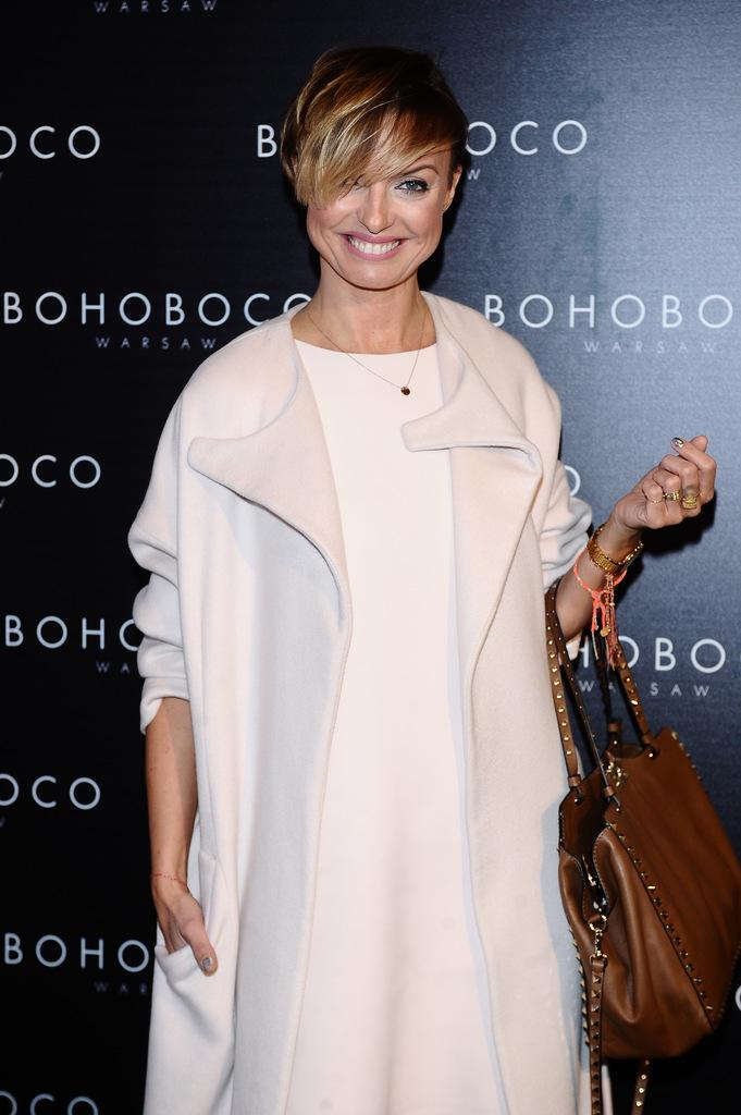 Katarzyna Sokołowska na pokazie polskiej marki BOHOBOCO