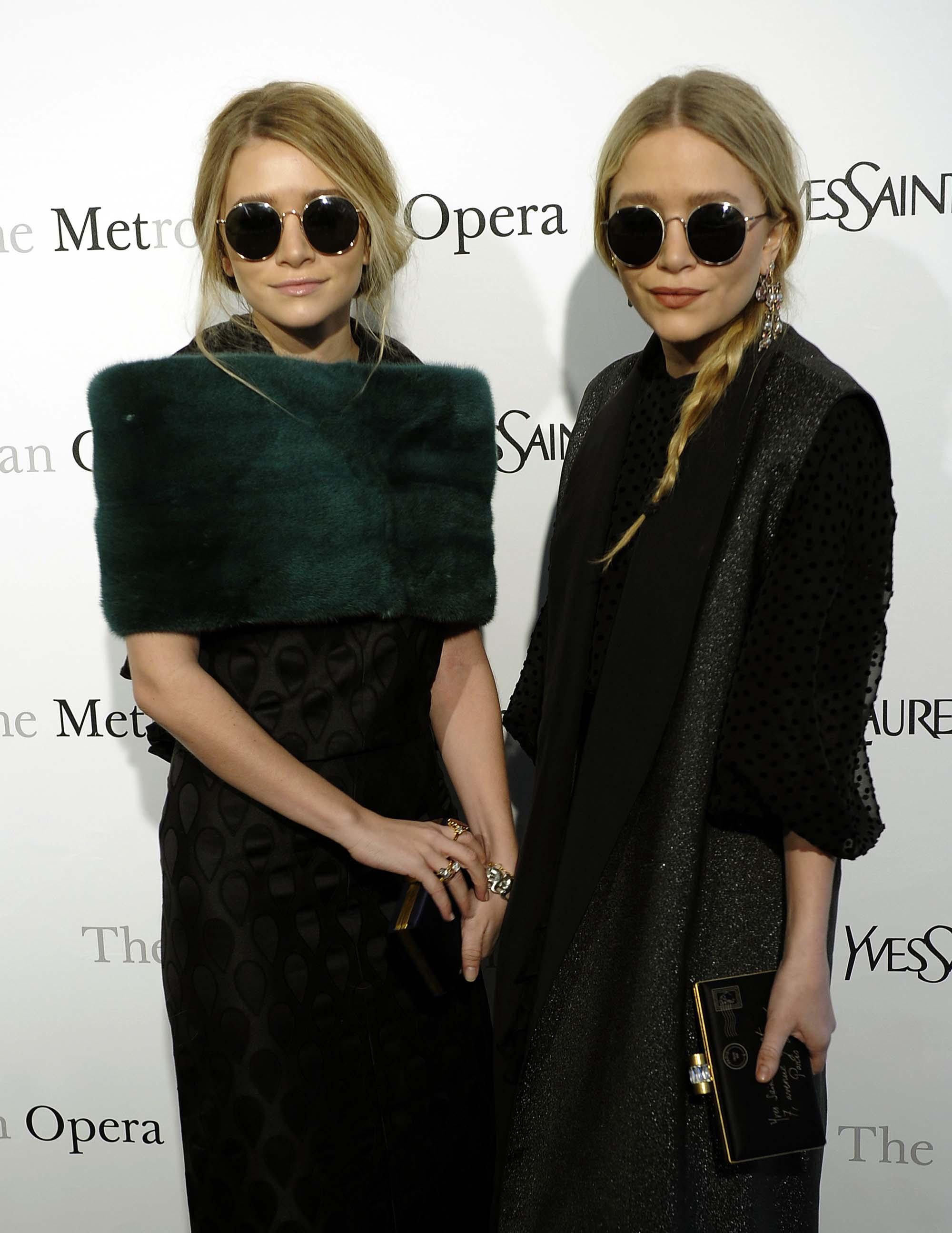 Ashley i Mary-Kate Olsen na Metropolitan Opera gala