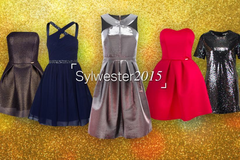 Sukienki na sylwestra 2015