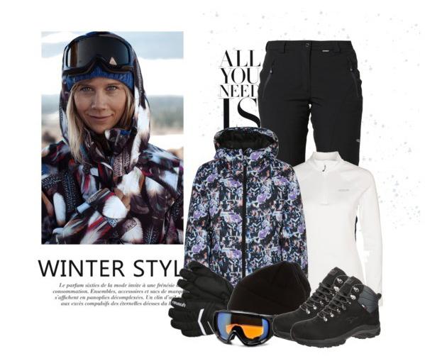 Modne zimowe stylizacje na narty