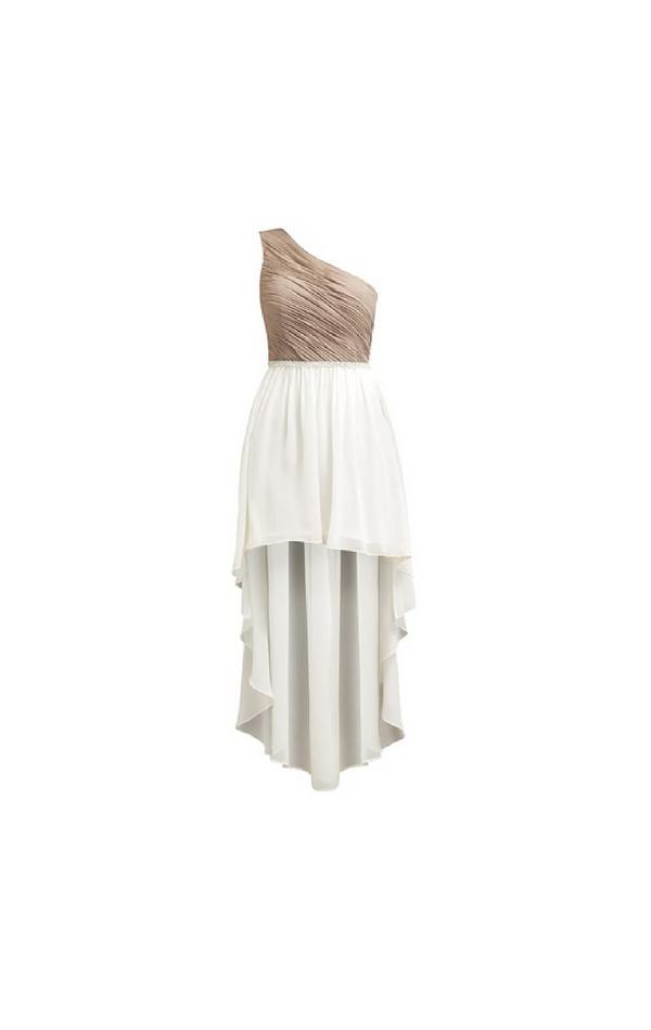 Suknia krótka z przodu długa z tyłu