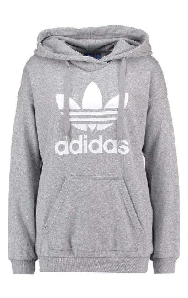 Klasyczna szara bluza marki Adidas