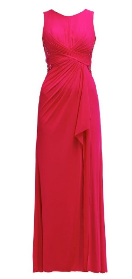 Czerwona suknia balowa
