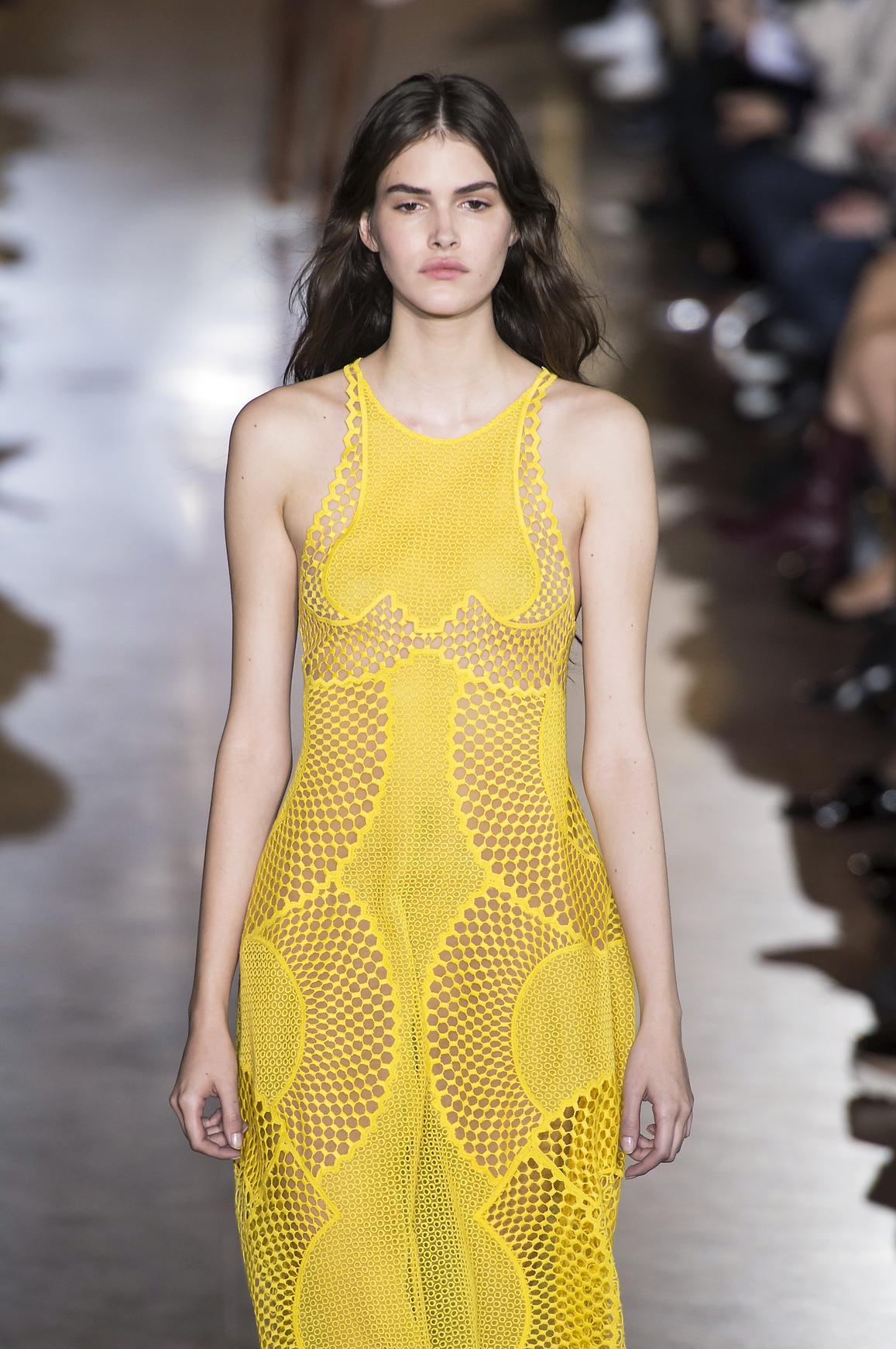 Sukienka w kolorze buttercup