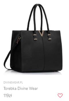 Duża torba w stylu Gigi Hadid
