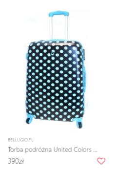 Stylowa walizka