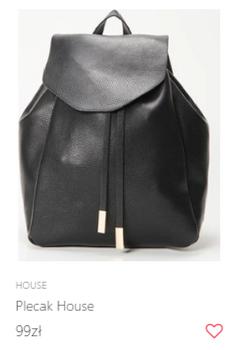 Skórzany plecak w atrakcyjnej cenie
