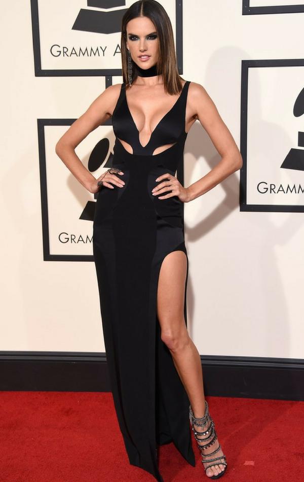Alessandra Ambrosio Grammy Awards 2016