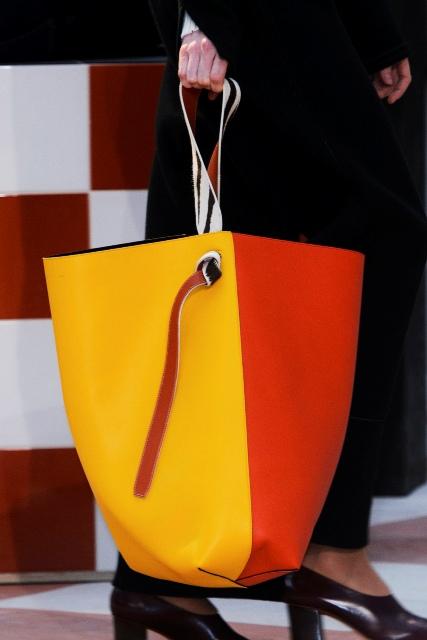 Dwukolorowa shopper bag