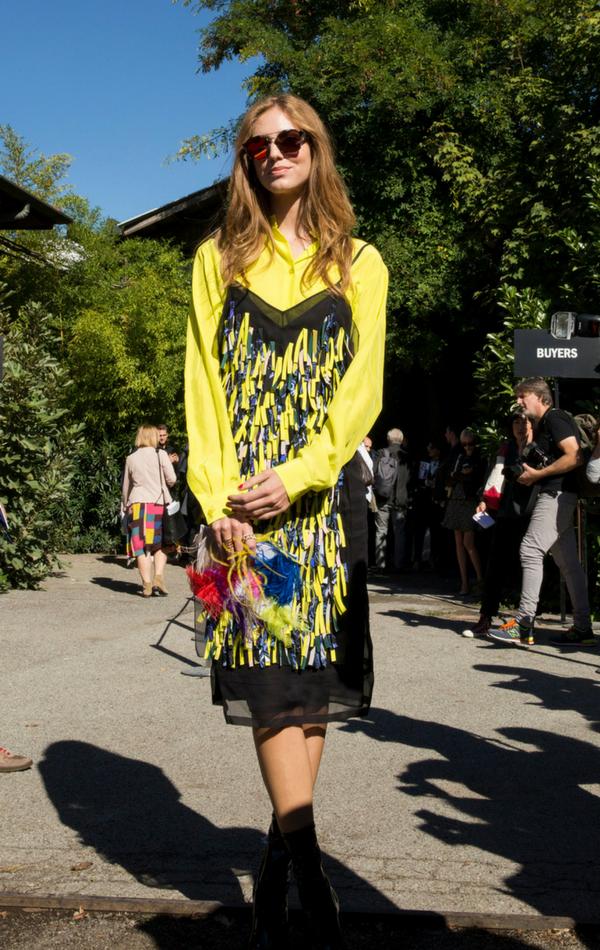 Street Fashion - Mediolan