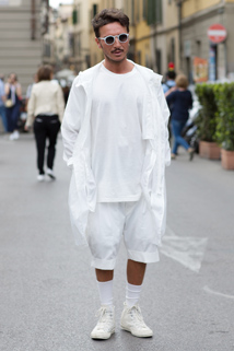 Biały kolor - gwarant oryginalnej stylizacji