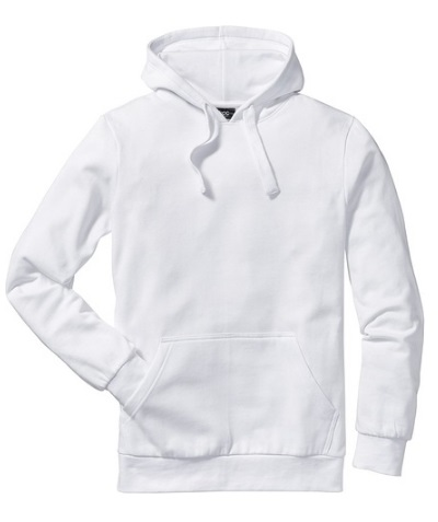 Modna biała bluza
