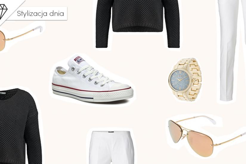 Sportowy minimalizm stylizacja dnia