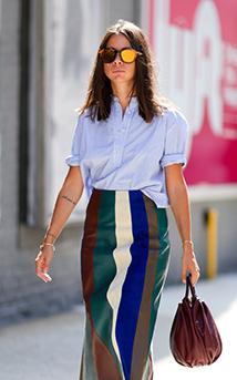 Torebka według francuskiej mody