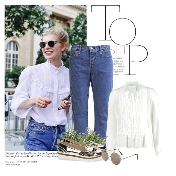 jak nosić jeansy w klasycznej stylizacji