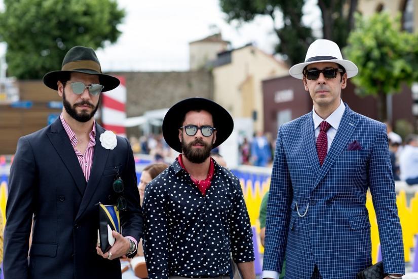 Garnitury podczas Tygodnia Mody we Florencji