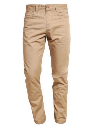 Długie spodnie w stylu safari