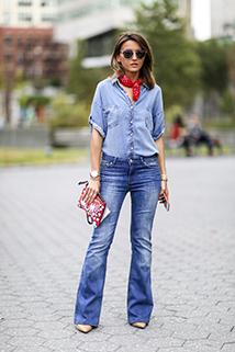 Jeans total look