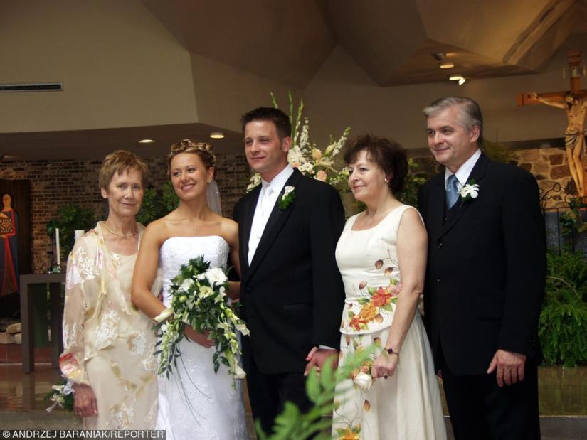 Mama powinna błyszczeć na weselu córki