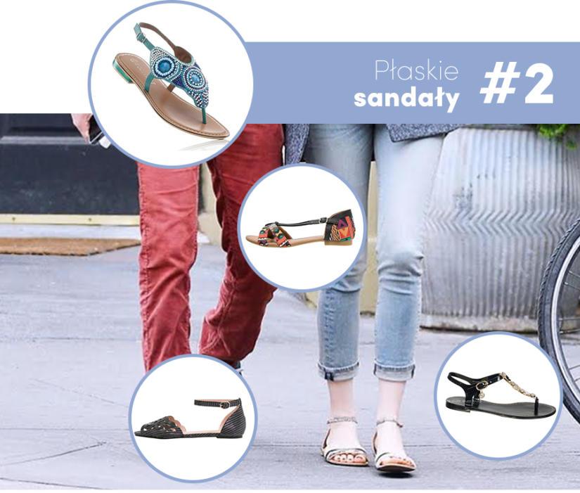 Dziewczęco - rurki plus sandałki