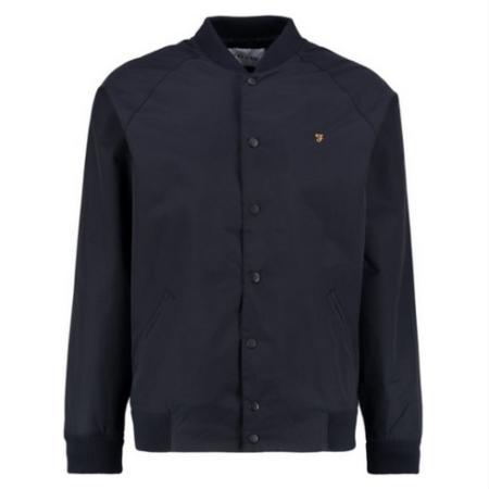 Szara bomber jacket