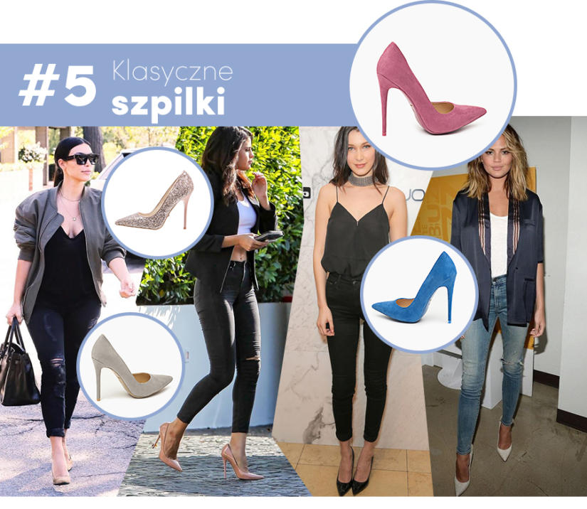 Elegancko - spodnie rurki z klasycznymi szpilkami