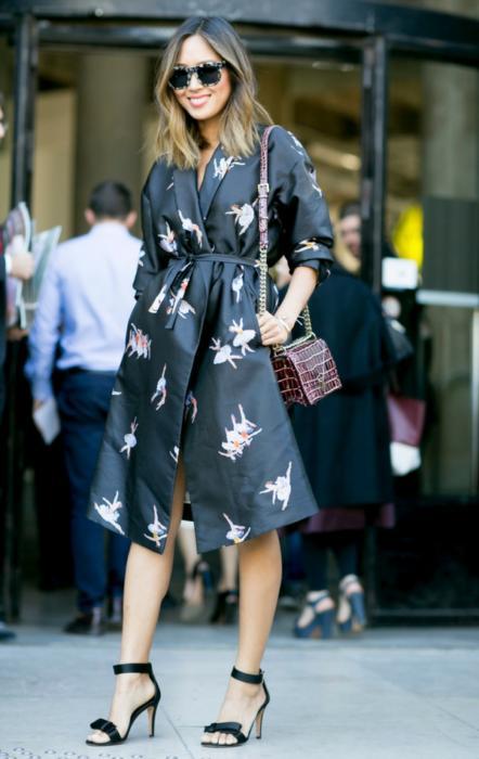 Elegancka stylizacja - Mediolan