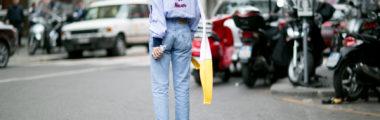 stylowe mom jeans