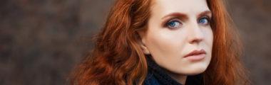 rude włosy - ubrania