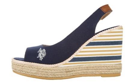 Sandały w marynarskim stylu