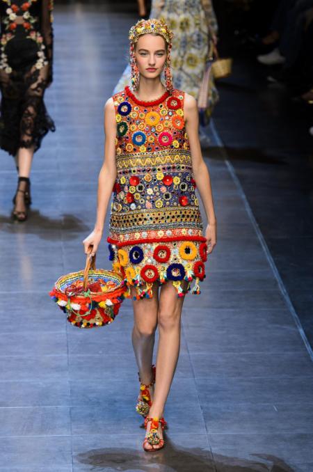 Etniczna stylizacja od Dolce & Gabbana