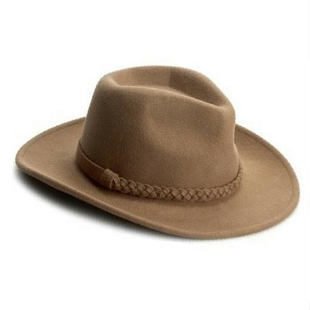 Jasnobrązowy kapelusz