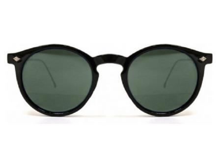 Czarne, klasyczne okulary