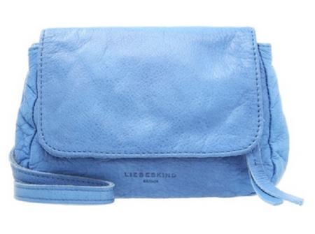 Niebieska torebka na ramię