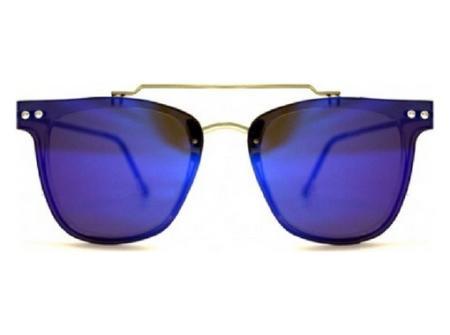 Okulary z kolorowymi szkłami