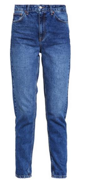 Błękitne mom jeans