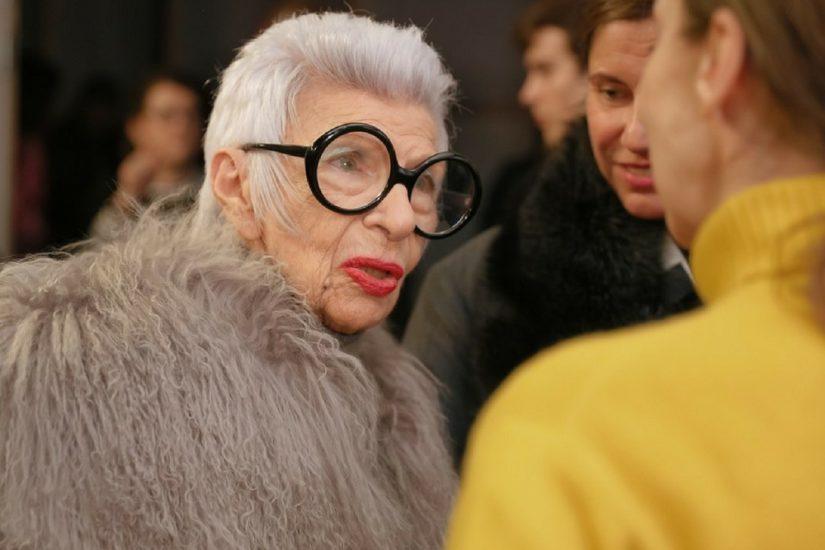 Iris Apfel wyczucie stylu