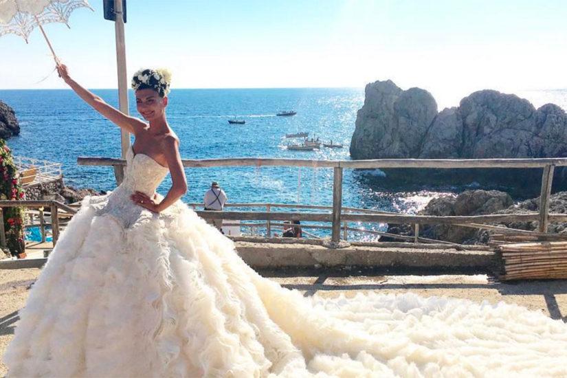 Ślub Giovanny Battaglii