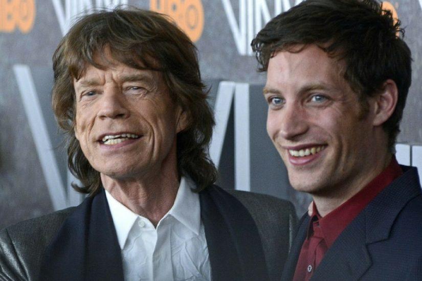 James Jagger jest modelem.