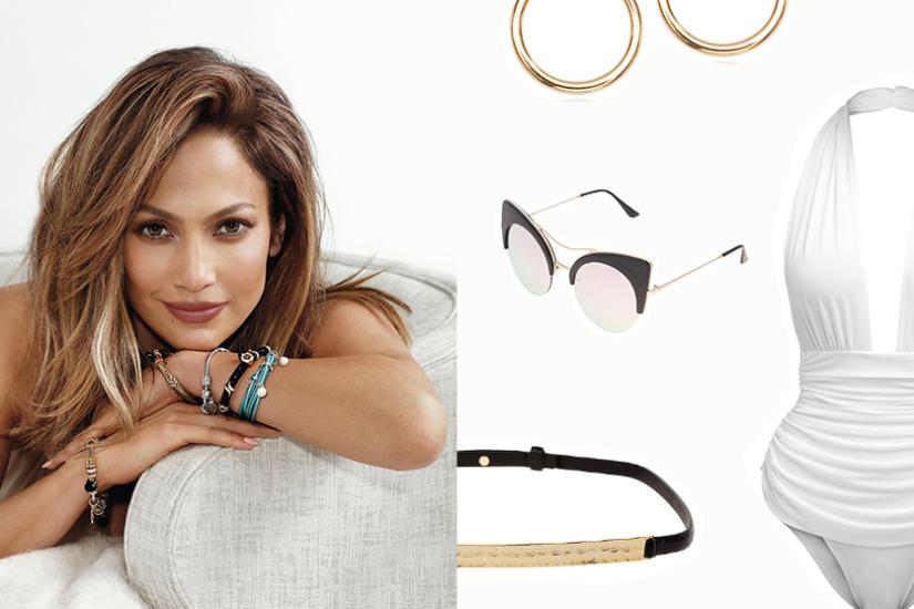 Zestaw w stylu Jennifer Lopez