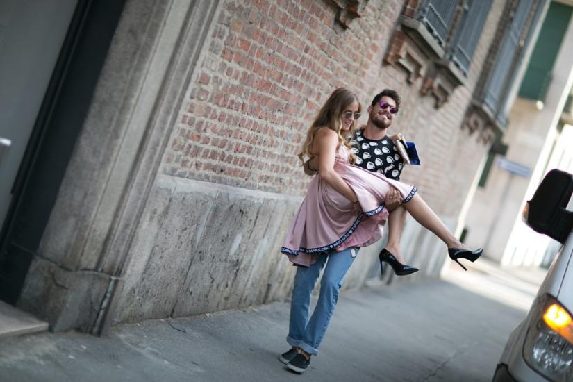 Romantyczna randka w Mediolanie