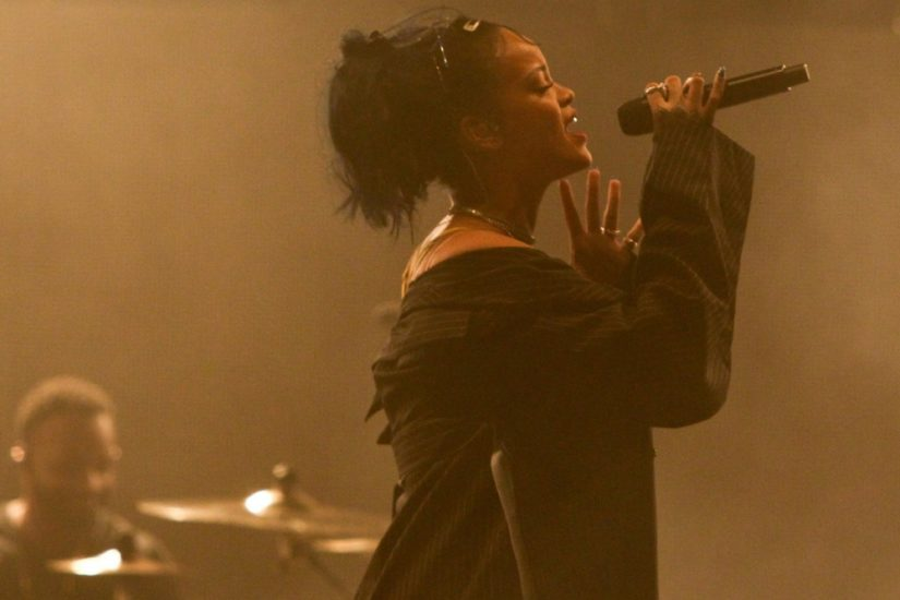 Rihanna na koncercie