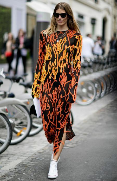 Street Fashion na ulicach Paryża
