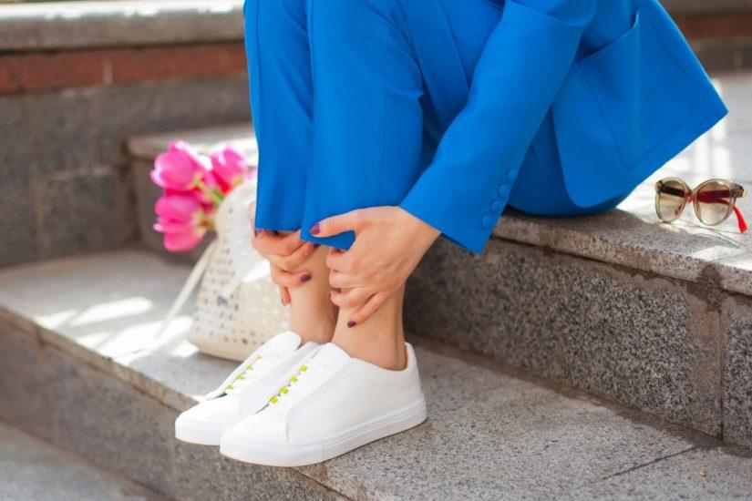 dostać nowe buty jesienne konkretna oferta Jak stylizować sneakersy do pracy? - Allani trendy