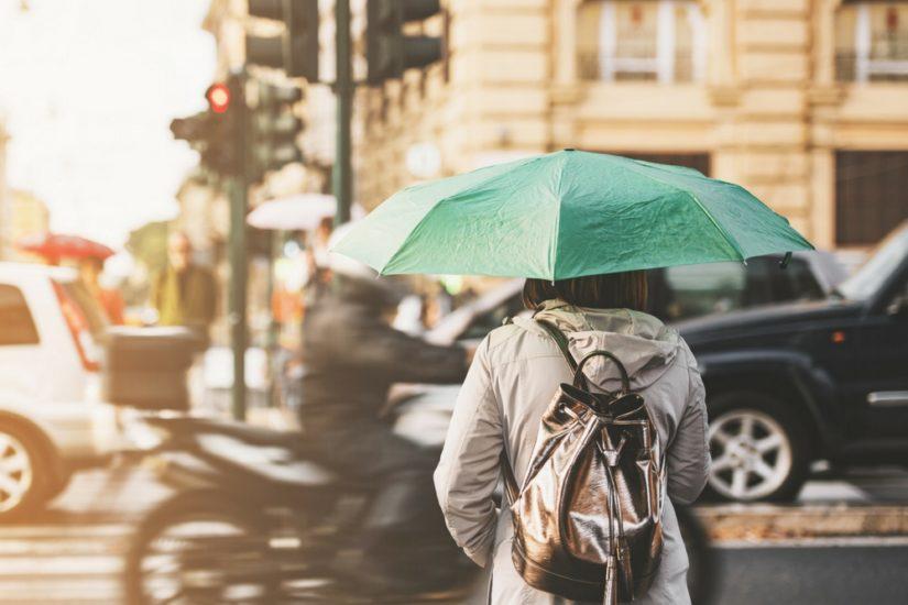Jak się ubrać w deszczowy dzień latem?