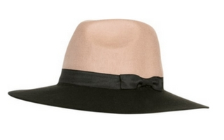 Dwukolorowy kapelusz